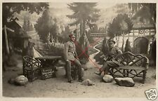 17673/ Originalfoto 9x13cm, Reichswehrsoldaten im Naturpark Wilsede, 1929