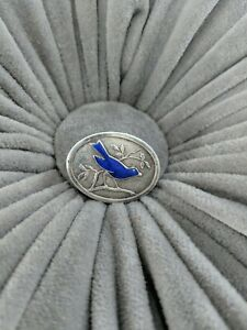 Vintage Birmingham Sterling By John Fulton Blue Bird Pin Brooch