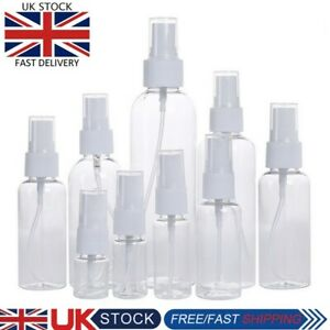 30/50/60ML Clear Plastic Perfume Atomizer Empty Spray Bottle for  Beauty Travel