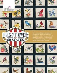 Birds & Flowers of the 50 States Anita Goodesign Special Edition Embroidery CD