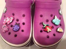 Children's Purple Crocs 10 11