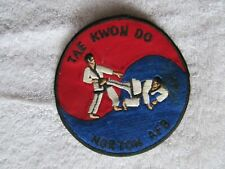 "Rare Vintage 4"" TaeKwonDo Martial Arts Patch Norton, Air Force Base, California"