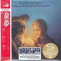 MOODY BLUES-EVERY GOOD BOY DESERVES FAVOUR-JAPAN MINI LP SHM-CD Ltd/Ed G00