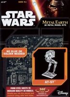 Star Wars AT-ST Metal Earth 3D Model Kit FASCINATIONS