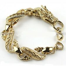 Anime Dragon Ball Z Golden Dragon Hand Chains Bracelet Cosplay Loose New Gift