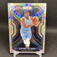2020-21 Panini Prizm Basketball Xavier Tillman Silver HOLO Prizm Rookie RC #299