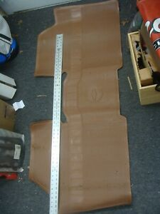 GM original Chevelle Brown Rear Floor Mat 1964, 65 66,67 Malibu #985718