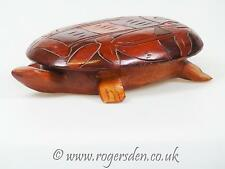 Vintage Treen  Turtle Trinket Box