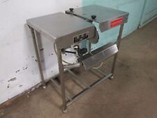 """Cryovac 8158"" Heavy Duty Commercial S.S. Plastic Bag Loading Station / Table"