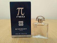 Pi Neo Givenchy for men EDT 5ml Mini Miniature Perfume New