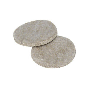 """48 Pack Heavy Duty 1-1/2"""" Round Felt Pads Sliders for Legs Chair Sofa Furniture"""