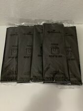 (5) Hallmark Solid Black Any Occasion Tissue Paper/Gift Bag Filler *Free Ship*