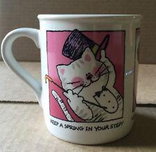 Hallmark CAT Kitten Coffee Mug Mates Happiness Japan Mugmates vintage