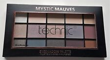 Technic Eye Shadow Palette 15 Colour Matte Shimmer Mystic Mauves