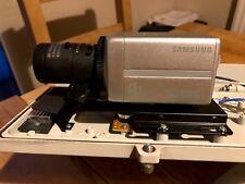 Samsung SCB-2001 P  600TVL Colour Box CCTV Low Light Surveillance Camera 12/24V