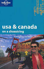 Lonely Planet USA & Canada on a Shoestring-ExLibrary