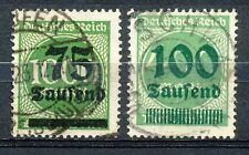 Reich 288 en 290 gebruikt; infla geprüft