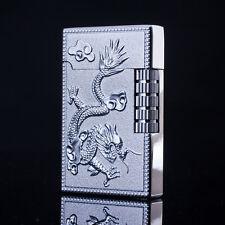 Silver Dragon Phoenix Cigar Butane Gas Refillable Lighter Cigarette Lighter