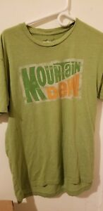 Mens large Mountain Dew shirt