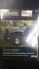 New Clymer Polaris Service Manual Sportsman 600, 700 & 800 Series 2002-2010 M366