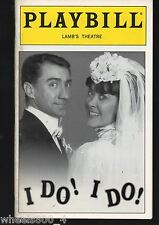Broadway Playbill I DO! I DO! March 1996 Lamb's Theatre Excellent