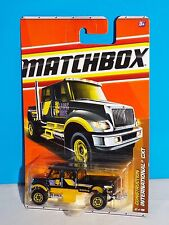 Matchbox 2011 Construction Series #47 International CXT Black LYONS BROS.