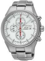 SEIKO SSC363P1 Mens Solar Date Chronograph Titanium Watch 100m WR RRP £249.00