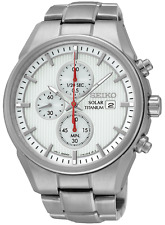 SEIKO SSC363P1 Mens Solar Date Chronograph Titanium Watch Authorised Stockist