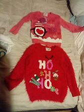 Kids christmas jumpers x 2