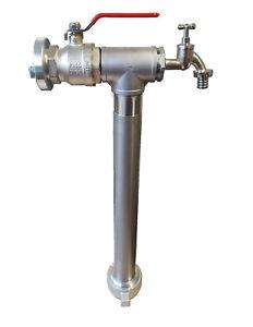 """Standrohr Hydrant Maxi Fuß DN80 2"""" Storz-C ,  Zapfhahn"""