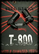 1/6 Hot Toys Terminator T-800 BD Version MMS238 Pair of Black Boots