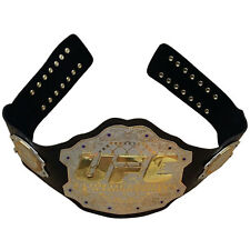UFC Championship Belt Ultimate Fighting Belts Adult Size Real Leather