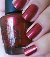 Opi Nail Lacquer * Nail Polish - Red-Y To Help Sr 6A4 - Discontinue Color
