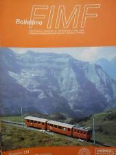 Bollettino treni FIMF n°211 Ferrovia Diakofto - Kalavrita  [TR.33]