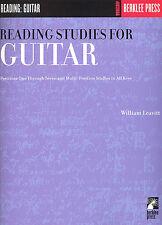 Lectura De Estudios Para Guitarra Aprende A Tocar desarrollar tu música Libro