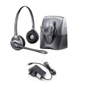 Plantronics CS361N Binaural Wireless DECT office headset