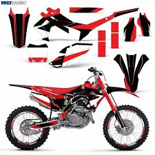 Decal Graphic Kit Honda 450R Dirt Bike 450 Stickers w/Backgrounds CRF450 13-16 M