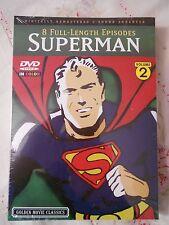 SUPERMAN THE CARTOON 8 EPISODES VOLUME 2 DVD