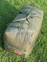 US Army Military Deployment Duffle Flight Sea Foldable Travel Bag Back Pack USGI