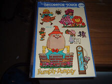 Vintage large Meyercord decal sheet Humpty Dumpty  & other nursery rhyme images