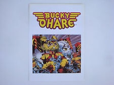 Prospectus ancien catalogue dessin animé capitaine Bucky o'hare & Willy du Witt