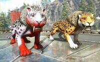 Ark Survival Evolved Xbox One PvE Genesis | X-Sabertooth 211-233 Unleveled