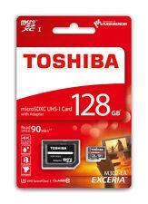 CARTE MICRO SD SDXC 128 GO GB CLASSE 10 TOSHIBA 128GO UHS-3 BLISTER ORIGINAL