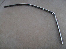 1967 1968 1969 BARACUDA CUDA ROOF WEATHER SEAL STAINLESS TRIM CHANNEL GUTTER