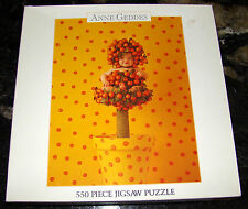 Anne Geddes 550 Piece Jigsaw Puzzle Baby Dressed as Orange Tree NEW