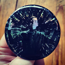 "CARL SAGAN Cosmos astro physics Contact Science Fiction holographic 2.25"" button"
