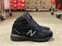 New Balance 990V4 Made in USA Mid Mens Trail Boots Black MO990BK4 NEW Multi Size