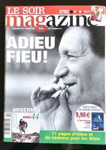 Soir Magazine 15/12/2004; 60 ans de la La bataille des Ardennes/Adieu Goethals