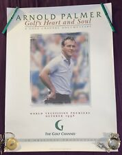 Arnold Palmer Golf Channel Documentary: Golf's Heart And Soul Original Poster