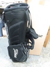 NEW * Titleist BLACK TB4SX1 - 0C Bag 3 Way Ultra Lightweight Stand Carry